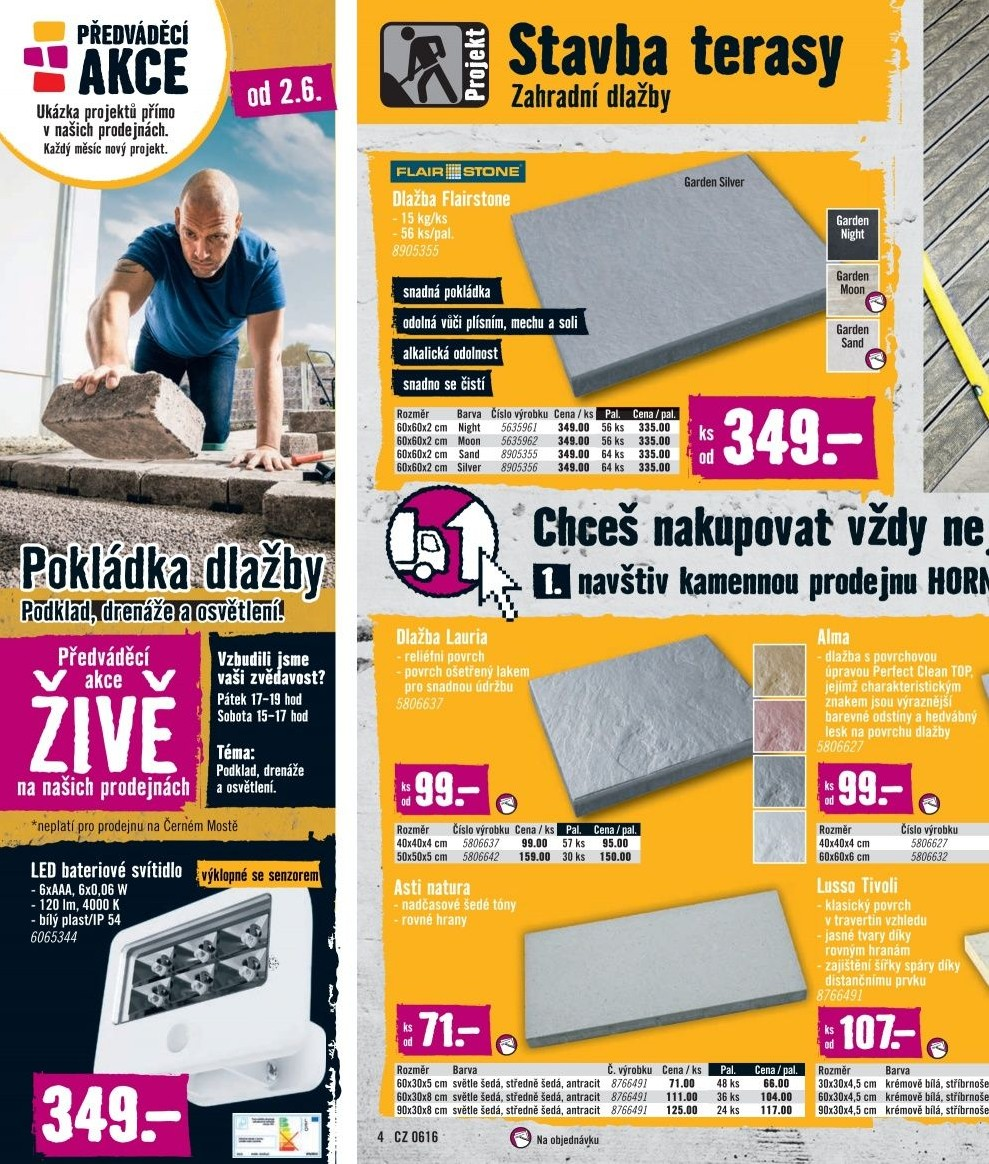 katalog hornbach od 1 6. Black Bedroom Furniture Sets. Home Design Ideas
